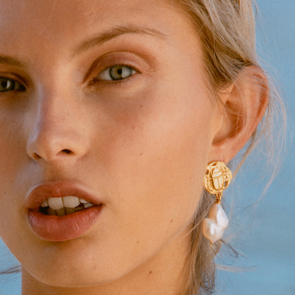 The Sun as Our Guide Earrings