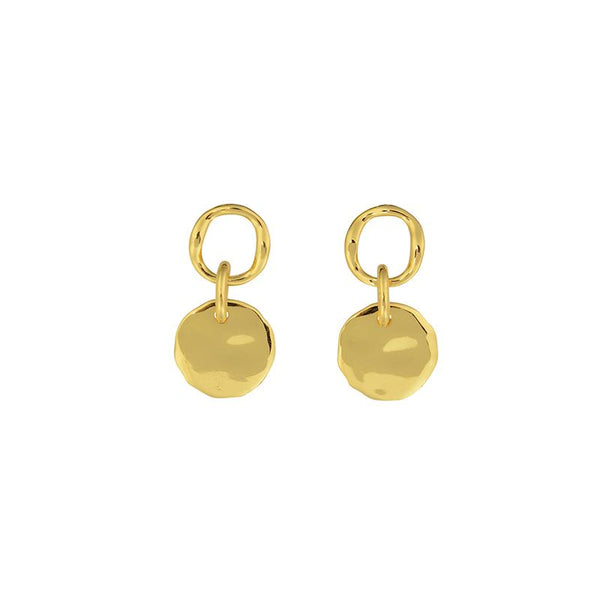 Granada Disc Earrings