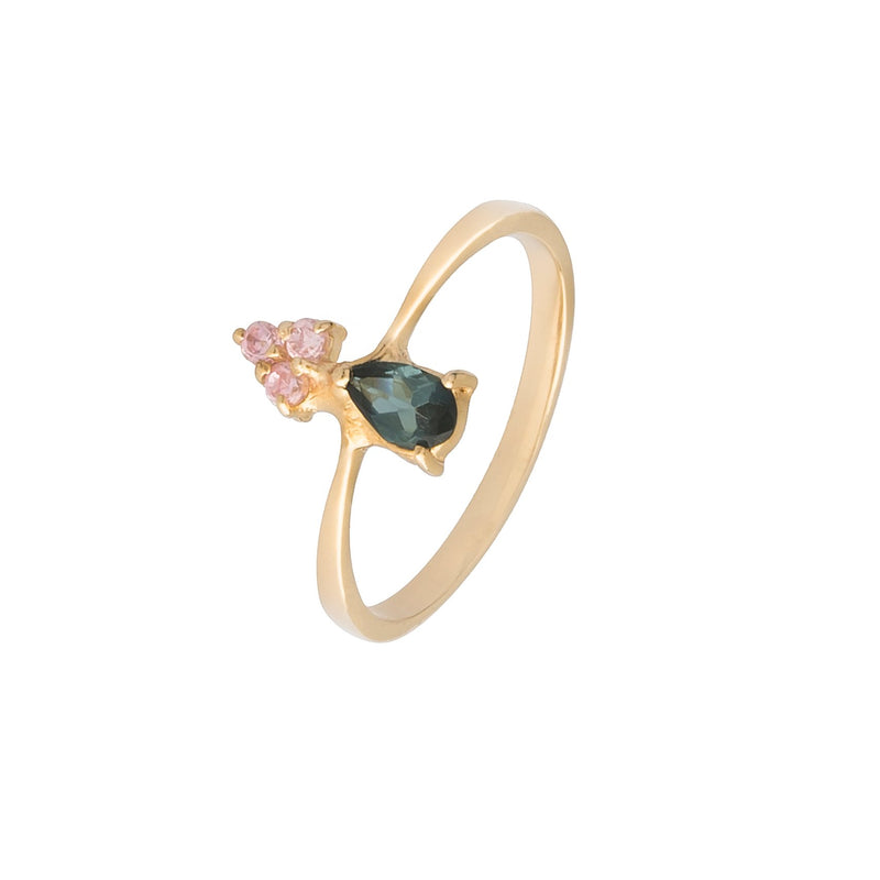 On Top Candy Ring - Tourmaline