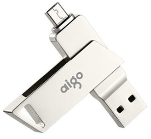 Aigo® USB 3.0 Flash Drive Ultra Dual Drive  for Android Devices and Computers