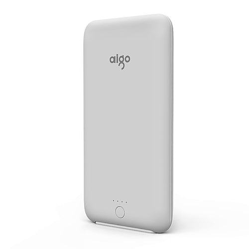 Aigo® Ultra Slim Power Bank, 10000mAh External Batteries
