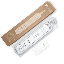 Load image into Gallery viewer, TP Quality 3 Outlet 3 USB Ports Switch Power Strip Surge Protector