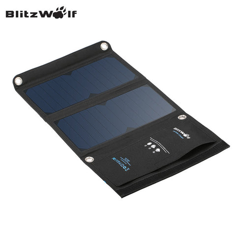 USB SunPower Solar Cell Panel Charger Power Bank For iPhone For Smartphone - 15W 2A