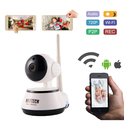 WiFi IP Camera 720P Home Security Camera