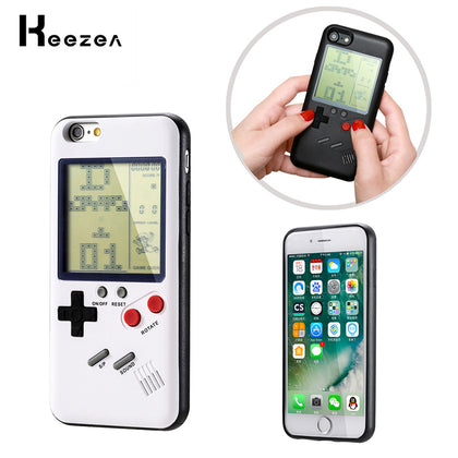 Game boy Case For iPhone X 8 7 6