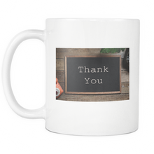 Taza Thank You.