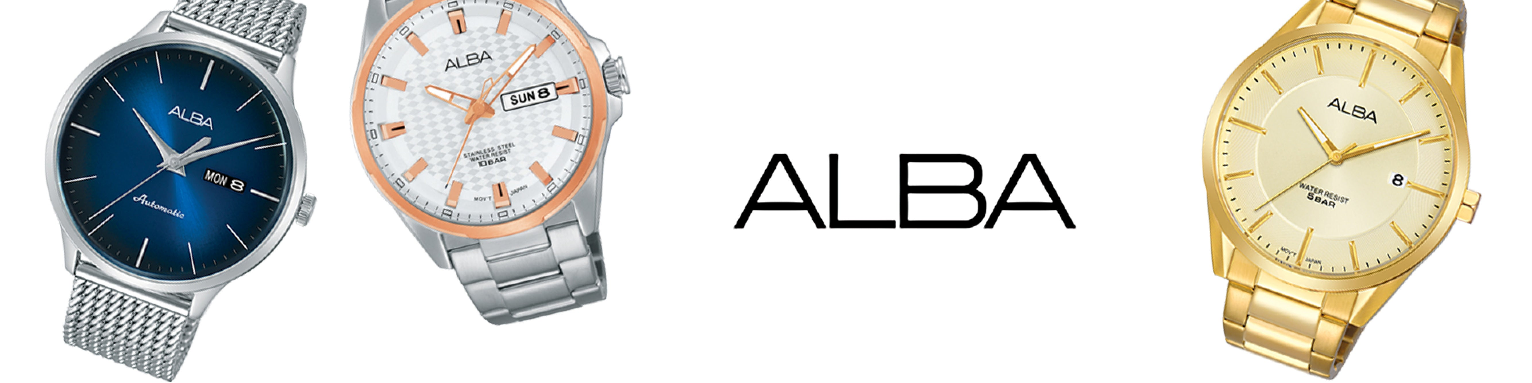 Alba Watches Collection Cover Photo