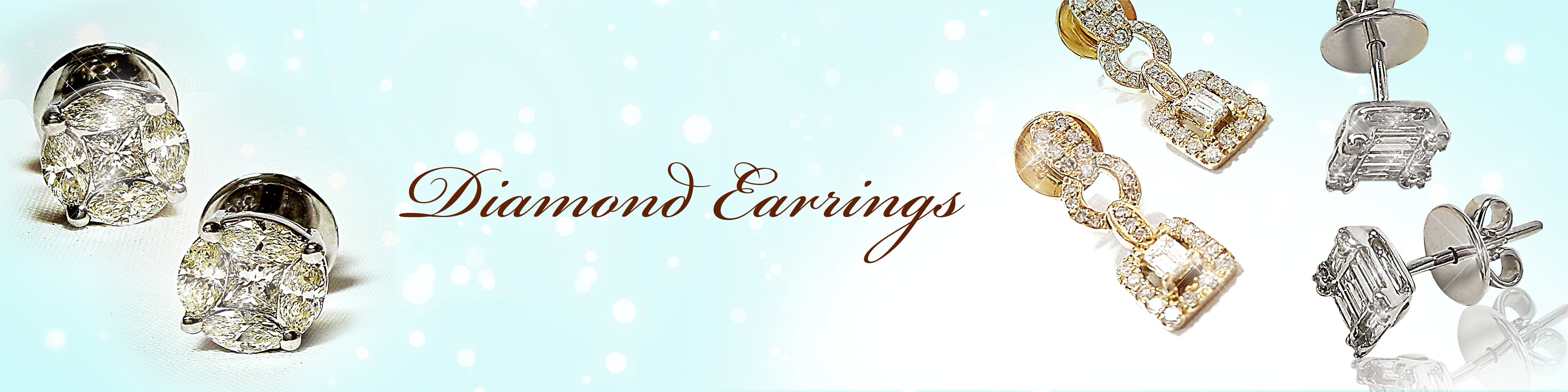 Diamond Earrings Collection Cover Photo