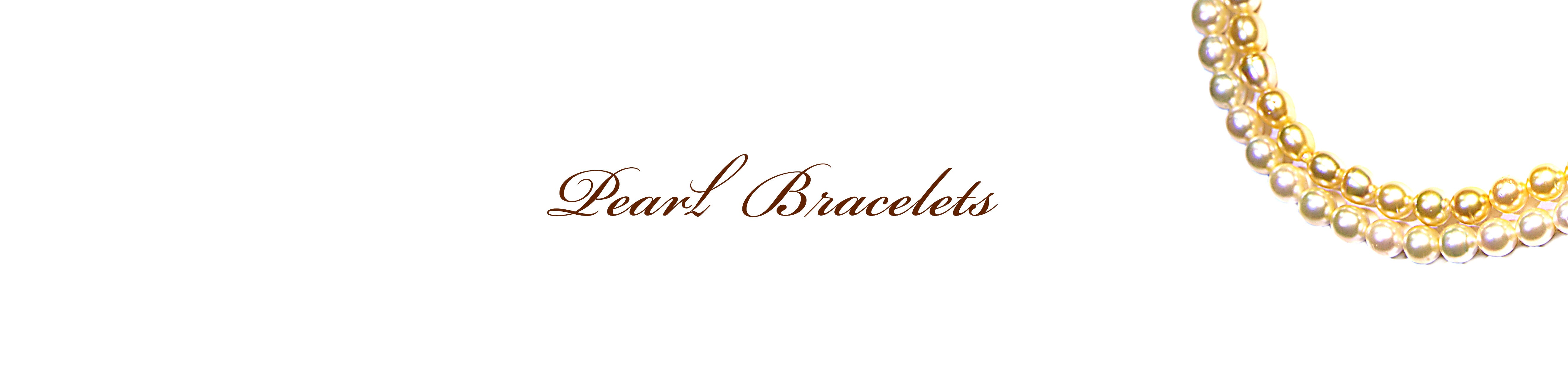 Pearl Bracelets Collection Cover Photo