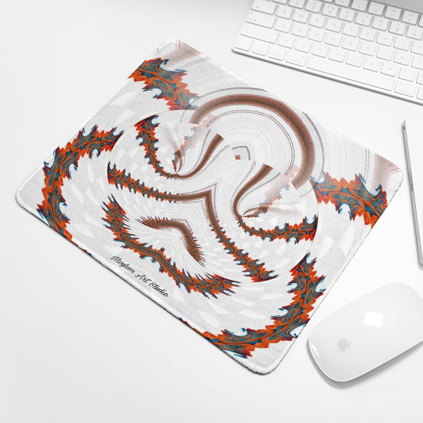 Red Land 7 Mouse Pad