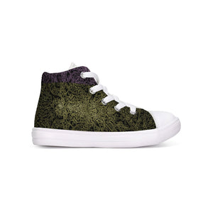 Butterfly Field 8 Kids Hightop Canvas Shoe