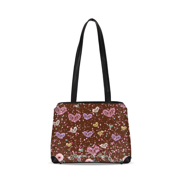 Flower Garden 3 Shoulder Bag