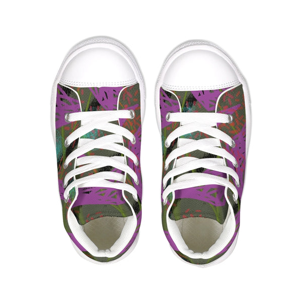 Floating On Air 6 Kids Hightop Canvas Shoe