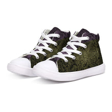 Load image into Gallery viewer, Butterfly Field 8 Kids Hightop Canvas Shoe