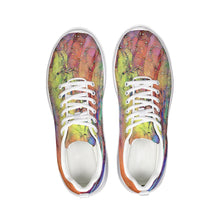 Load image into Gallery viewer, Cosmic Rainbow Athletic Shoe
