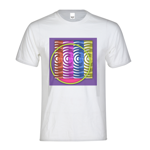 Neon Fusion Kids Graphic Tee