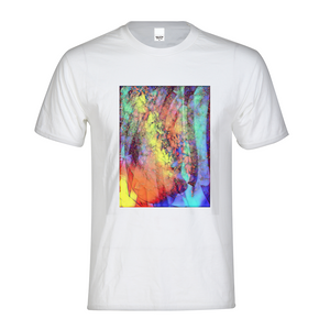 Cosmic Rainbow Men's Graphic Tee