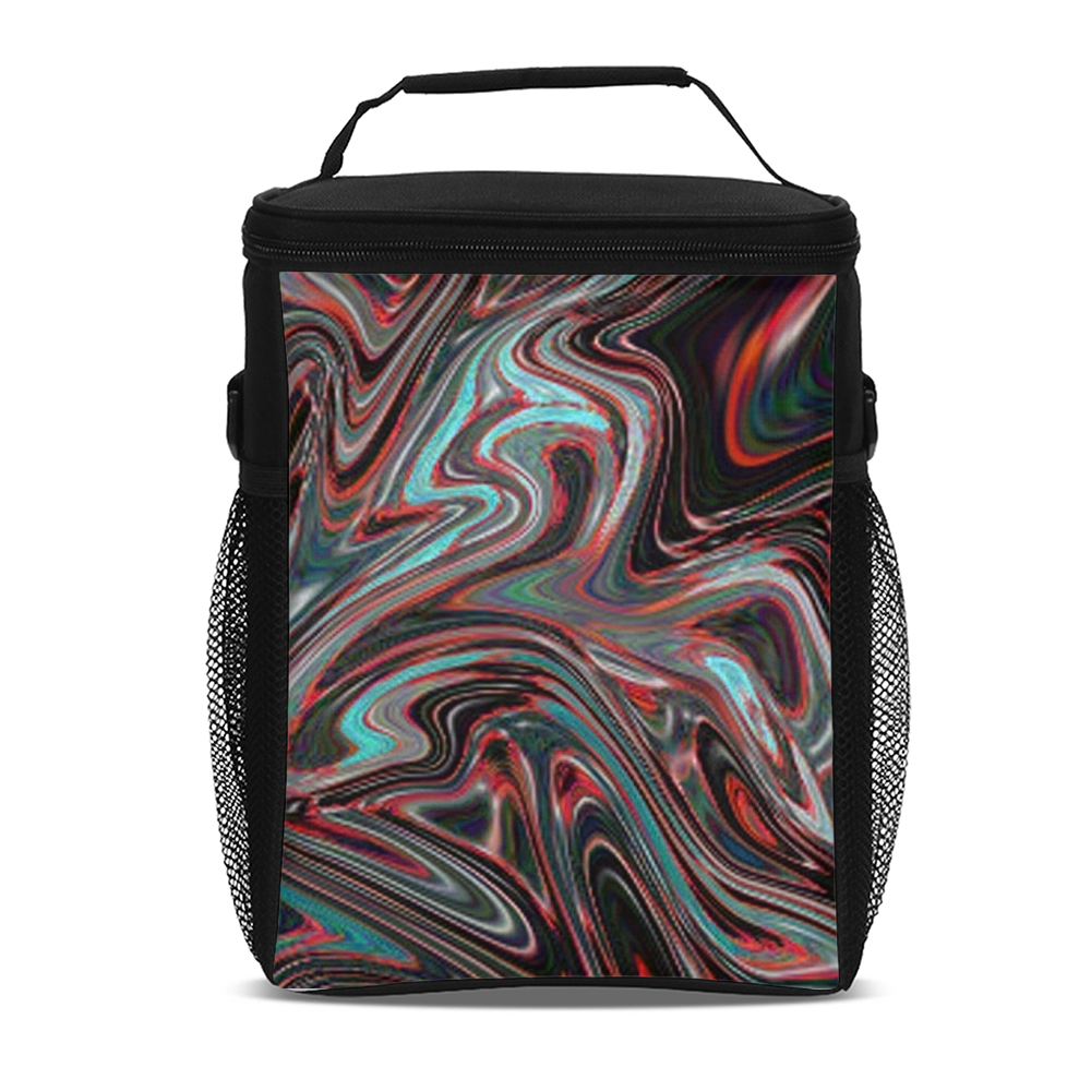 Liquid Pebbles 11 Tall Insulated Lunch Bag