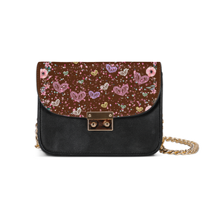 Flower Garden 3 Small Shoulder Bag