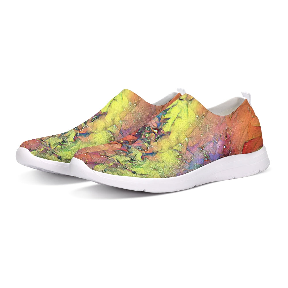 Cosmic Rainbow Slip-On Flyknit Shoe