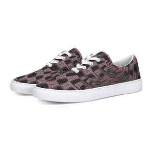 Mesmerized 35 Lace Up Canvas Shoe