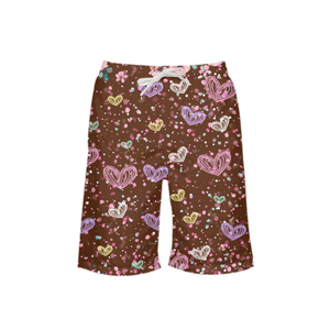 Flower Garden 3 Boy's Swim Trunk