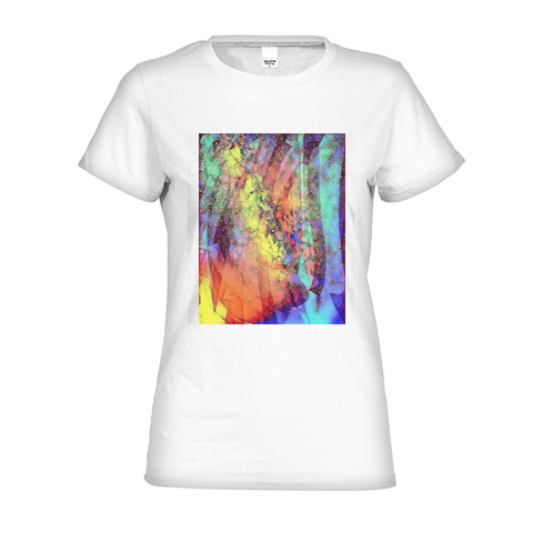 Cosmic Rainbow Women's Graphic Tee
