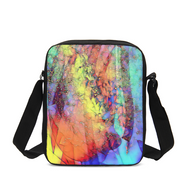 Cosmic Rainbow Messenger Pouch