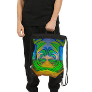 Rebirth 22 Canvas Drawstring Bag