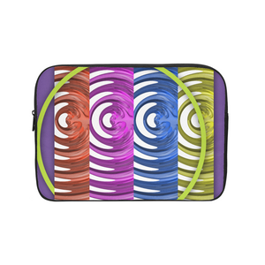 Neon Fusion Laptop Sleeve