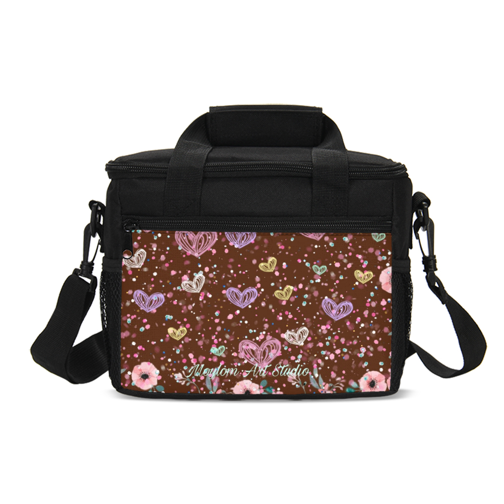 Flower Garden 3 Insulated Lunch Bag