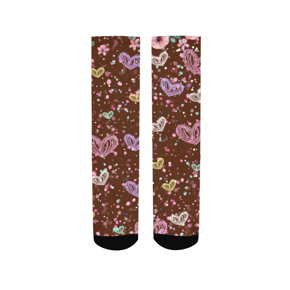 Flower Garden 3 Men's Socks