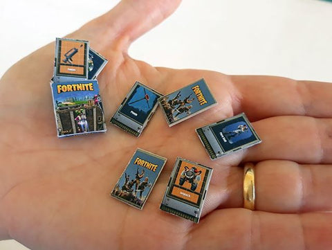 Miniature Fortnite Playing Cards
