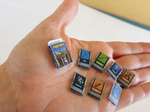 Fortnite miniature Playing Cards