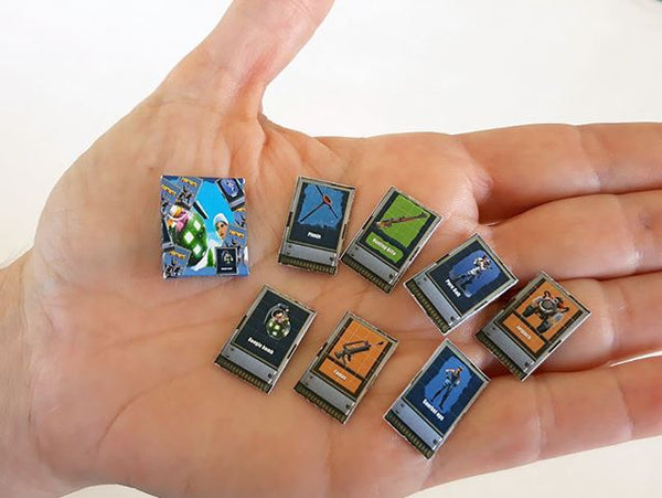 1:12 Miniature Fortnite Playing Cards