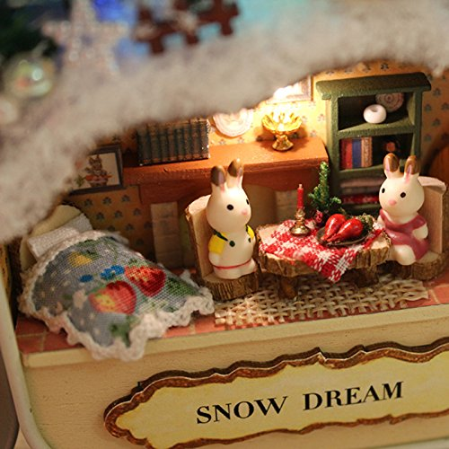 Dollhouse DIY Kit - Snow Dream