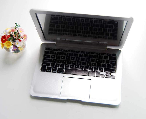 Dollhouse Miniature MacBook Air (white or silver) 1/6 scale