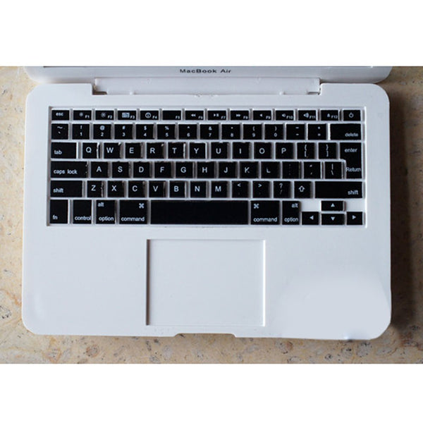 Miniature MacBook Air 1/6 scale white