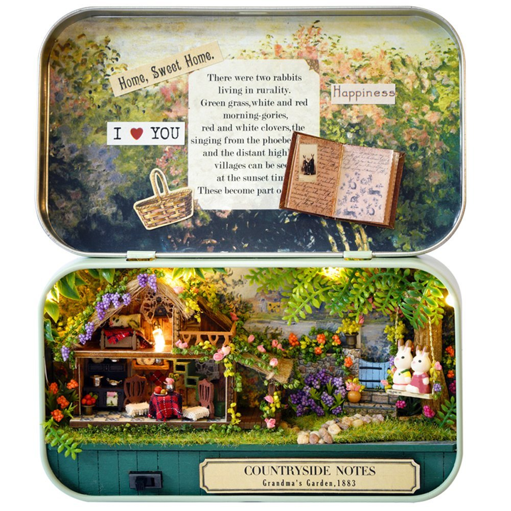 Countryside Notes - Dollhouse Miniature DIY Kit
