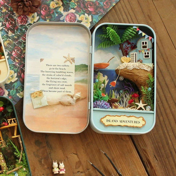 Island Adventures Dollhouse Miniature DIY Theatre Box