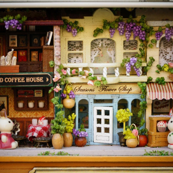 DIY Kit box miniature dollhouses