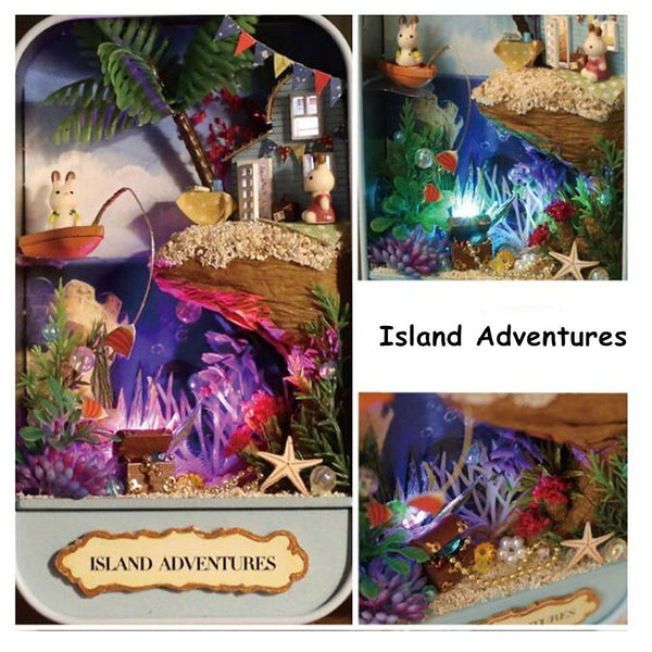 Island Adventures Dollhouse Theatre Box