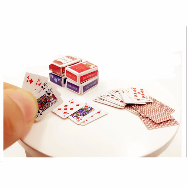 Miniature Playing Cards Set