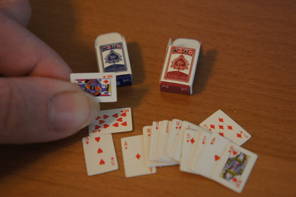 Dollhouse Playing Cards Set