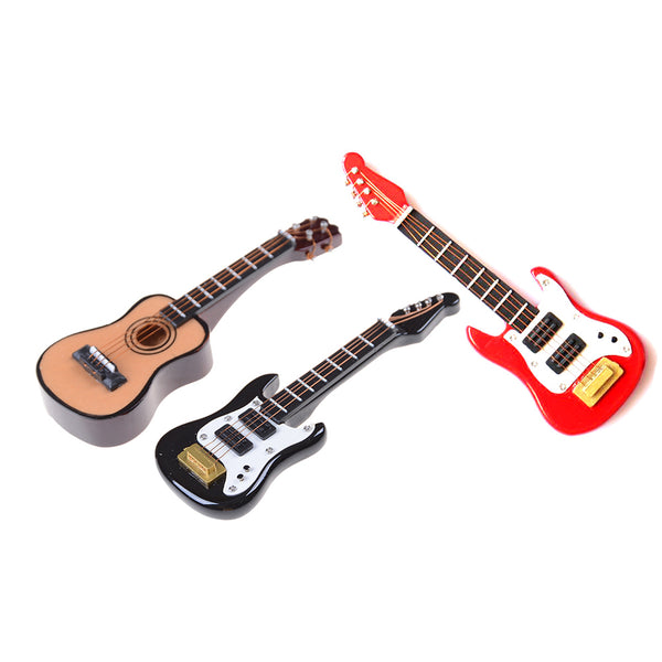 1:12 scale miniature guitars