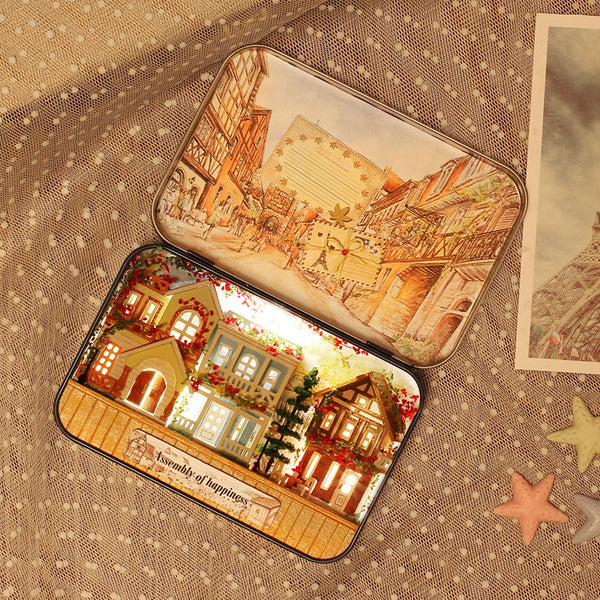 Assembly of Happiness dollhouse miniature diy kit