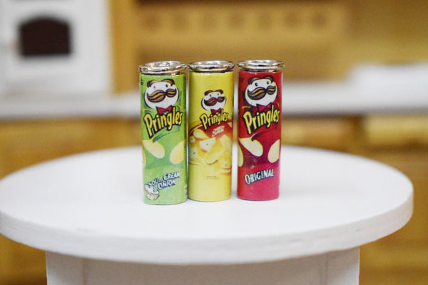 1/12 Scale Dollhouse Miniature Pringles