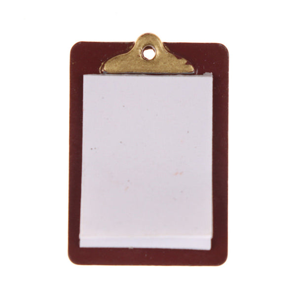 miniature dolhouse clipboard