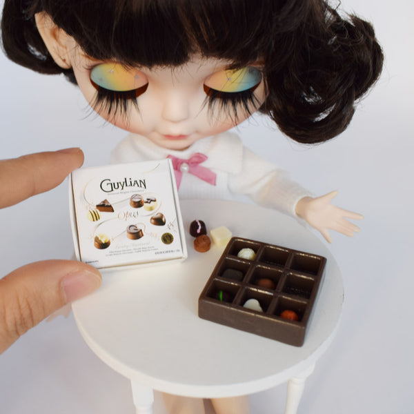Dollhouse Guylian Chocolate Box (1:6 scale)