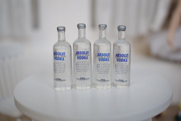 Vodka bottles 1:6 scale